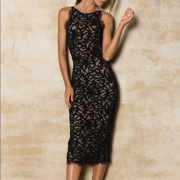 66c54fb5918e Grace Loves Lace Dresses & Skirts - Cruz dress in black from grace loves  lace size